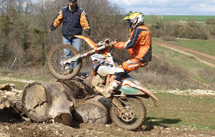 stage perfectionnement enduro